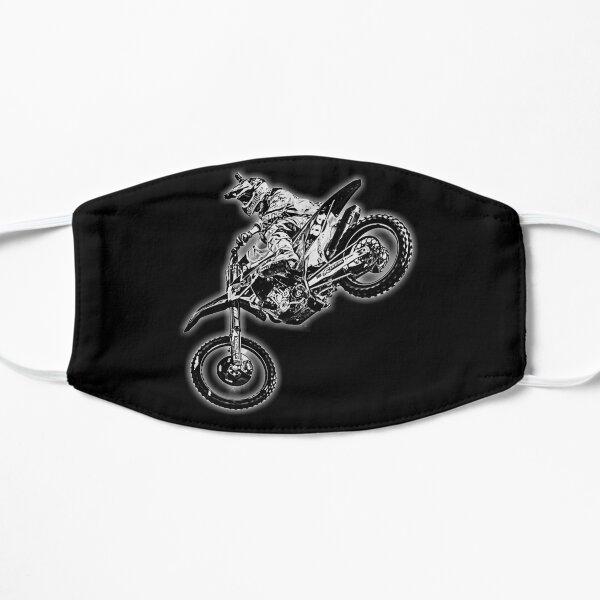 Dirt bike jump ou motocross jump mx ou moto jump Masque sans plis