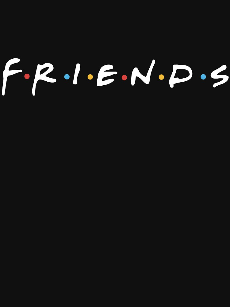 TShirtGifter presents: Friends Logo (white) | Unisex T-Shirt