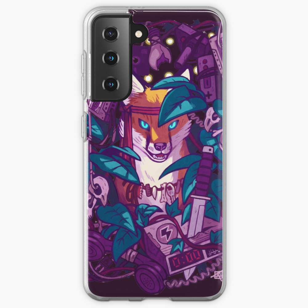Shadows of the Electric Jungle Case & Skin for Samsung Galaxy