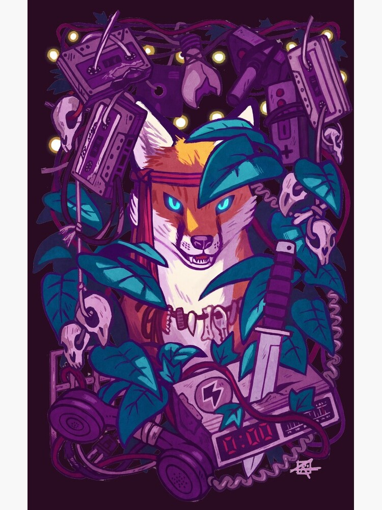 Shadows of the Electric Jungle by astraltiger