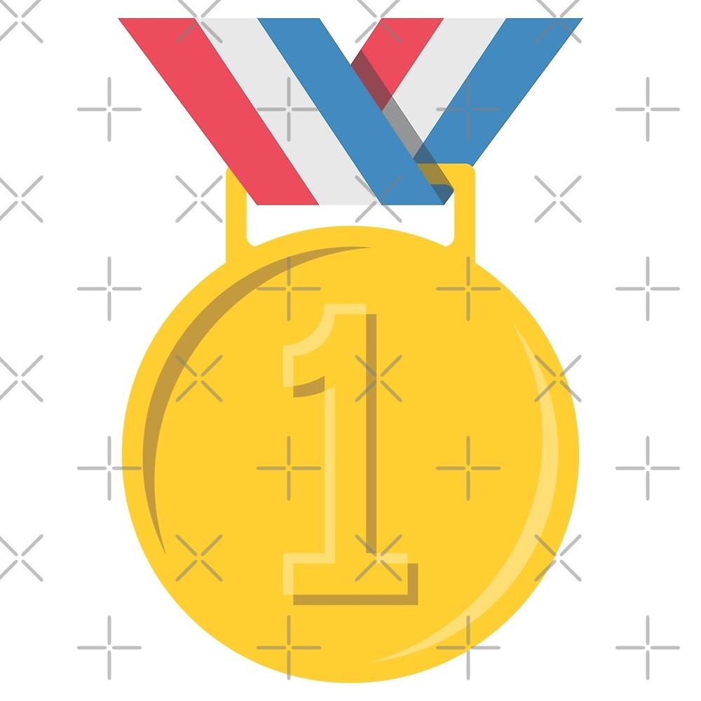 Gold Medal Emoji by depresident