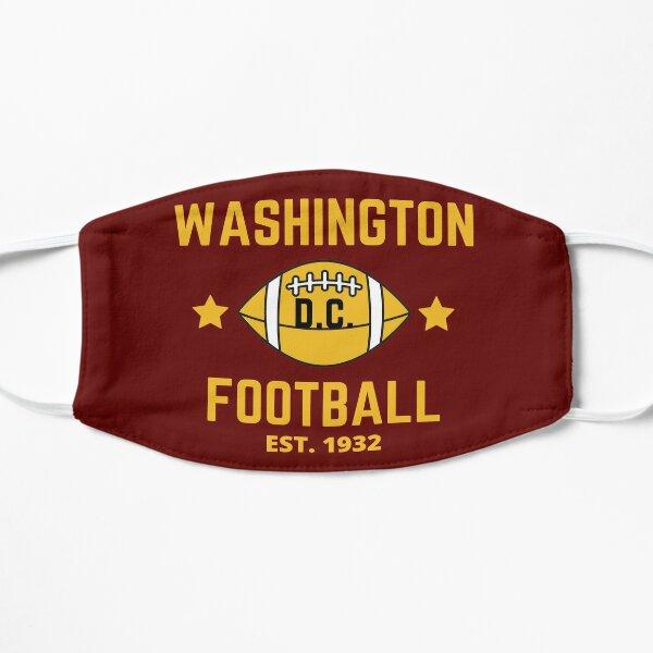 Washington dc football team est.1932 Flat Mask