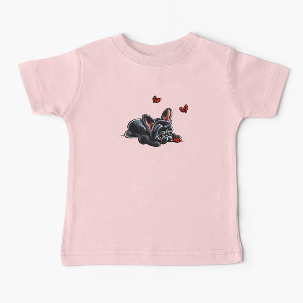 French Bulldog Ladybug Baby T-Shirt