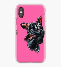French Bulldog Ladybug iPhone Case