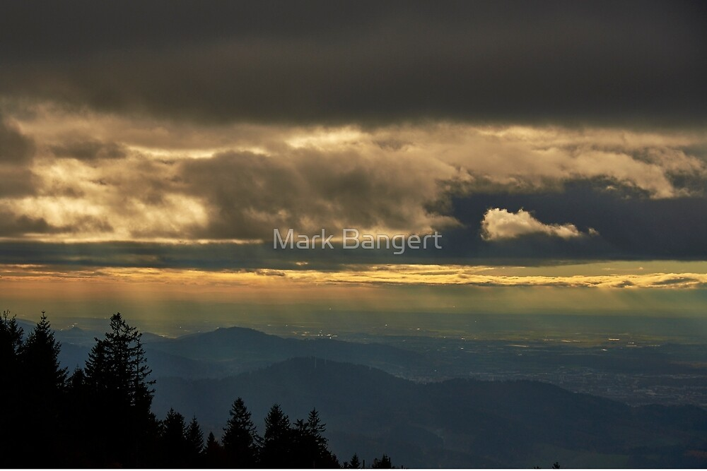 Another view from Kandel Mountain by Mark Bangert