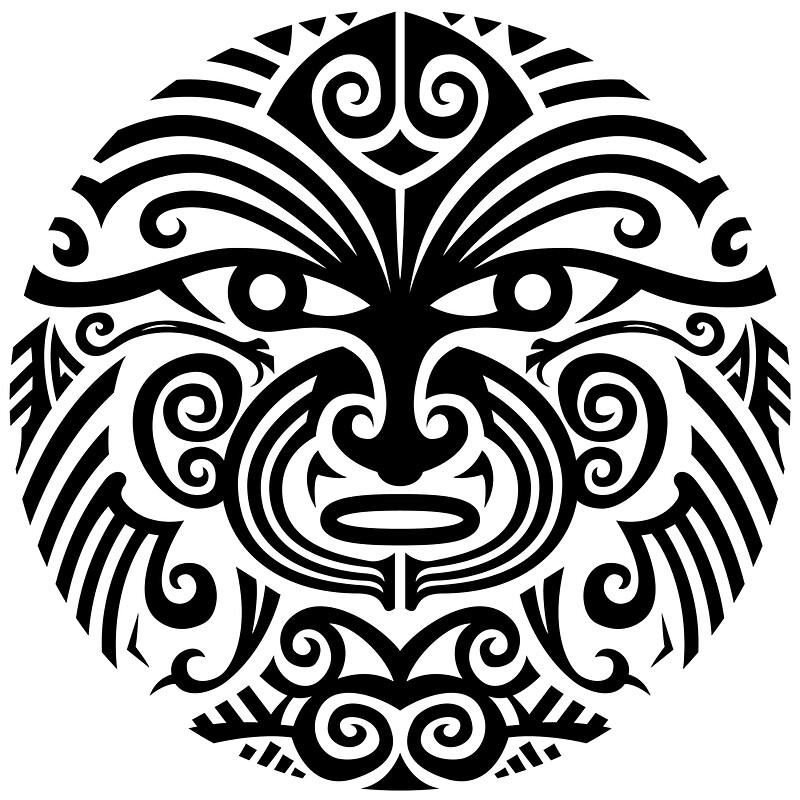 Maori facial art