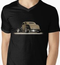 1932 Roadster (sepia) © Men's V-Neck T-Shirt