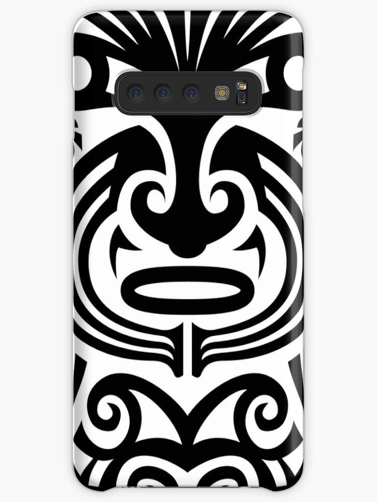 32efab2a9 Maori tattoo face - white