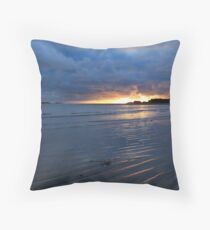Glencolmcille Sunset Throw Pillow