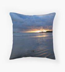 Glencolmcille Sunset Throw Pillow