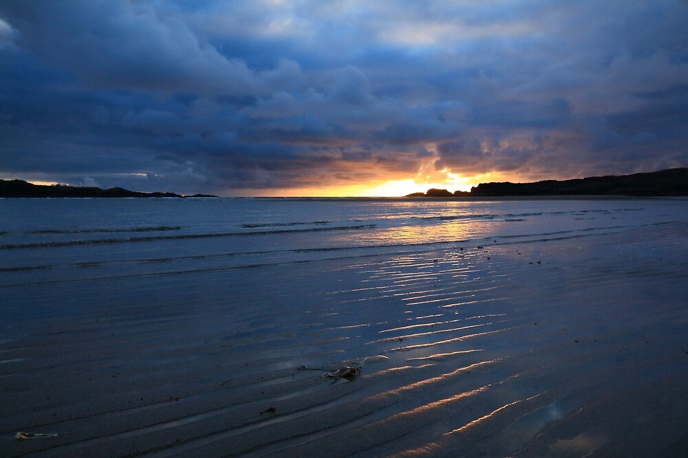 Glencolmcille Sunset by Adrian McGlynn