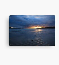 Glencolmcille Sunset Canvas Print