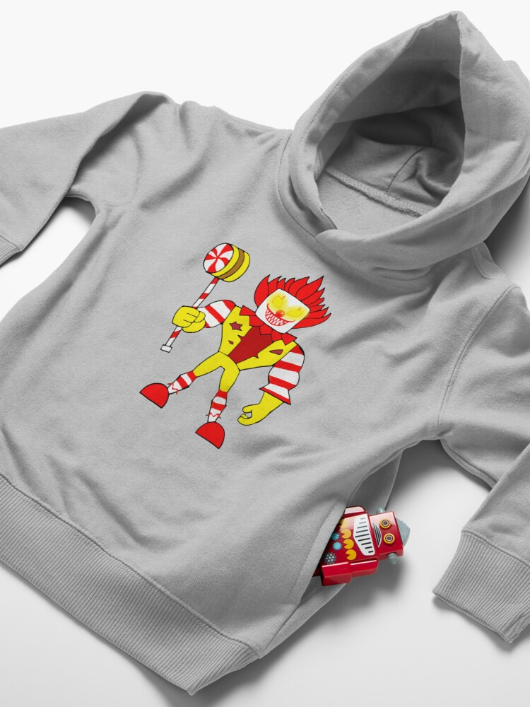 Alternate view of Ronald Game Toddler Pullover Hoodie
