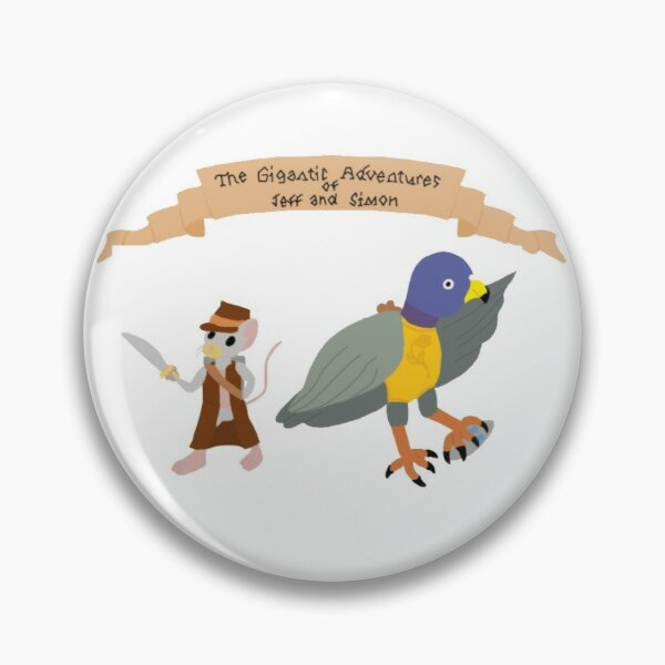 The Gigantic Adventures of Jeff and Simon Pin