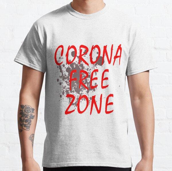 Maske Corona Free Zone Classic T-Shirt
