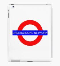 It's an underground network! iPad Case/Skin