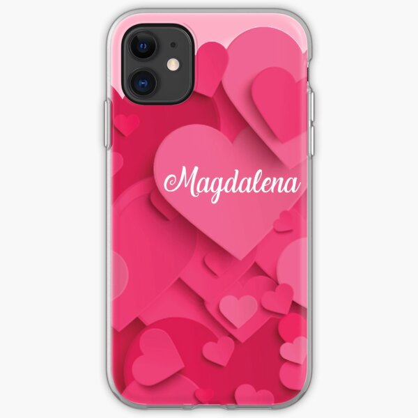 Romantic Valentine Women Girl Baby Kids Love Queen Magdalena  iPhone Soft Case
