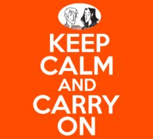 Keep Calm and Carry On, Simon Snow | Unisex T-Shirt