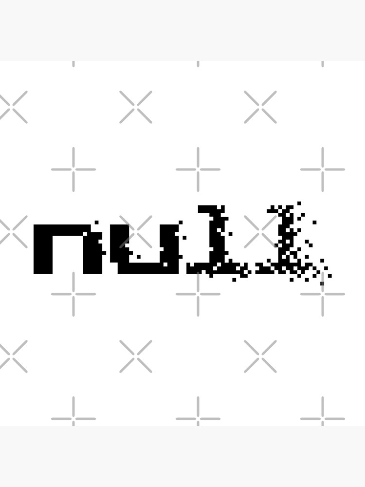 null fading away in pixels by introvertpixel