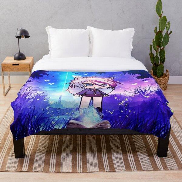 Gacha life in the magic forest Throw Blanket