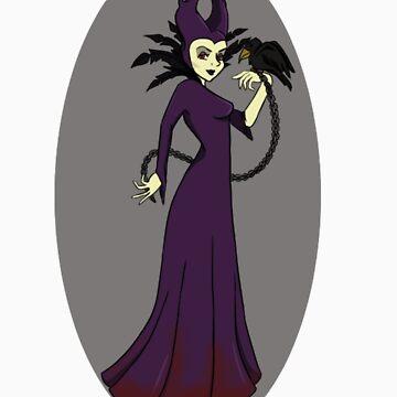 maleficent by RhiiCoales
