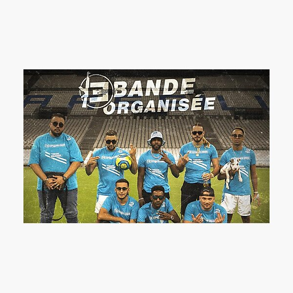 Organized Band Photographic Print