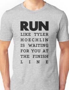 RUN - Tyler Hoechlin Unisex T-Shirt
