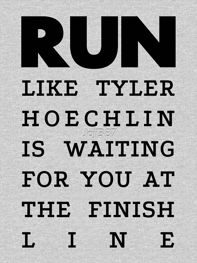 RUN - Tyler Hoechlin | Unisex Tank Top