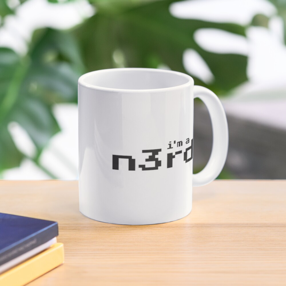 i'm a nerd Mug