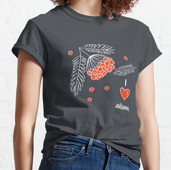 Pattern with ashberry  Classic T-Shirt