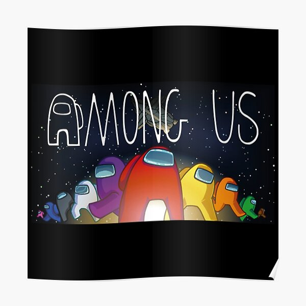 Among Us Posters Redbubble