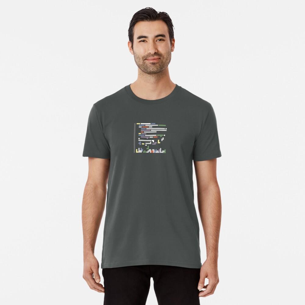 Code blocks representation Premium T-Shirt