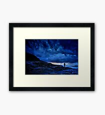 Cornish Sunset Framed Print