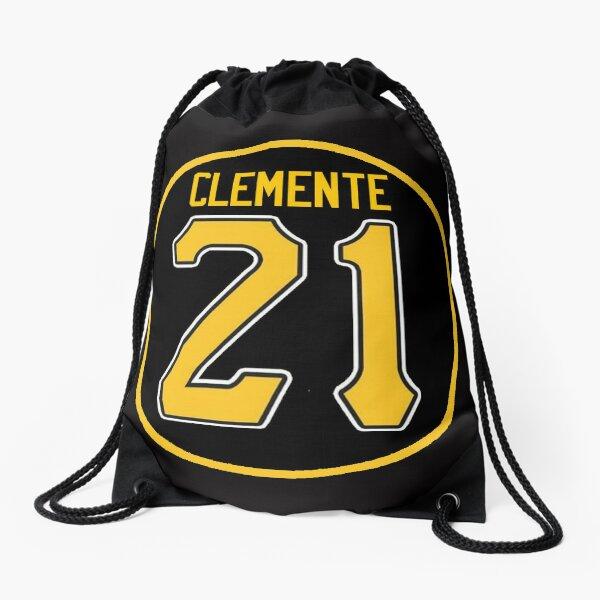 Roberto Clemente Pittsburgh Drawstring Bag