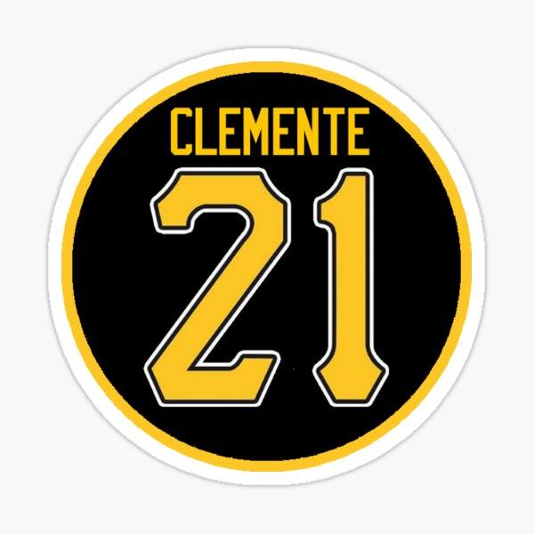 Roberto Clemente Pittsburgh Sticker