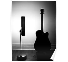Acoustic Electric Backlight Tutorial Poster