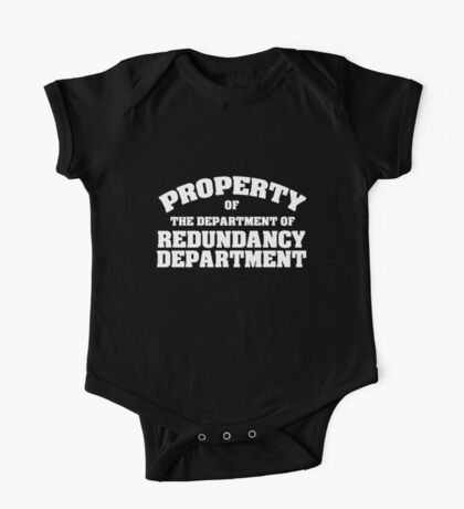 Property of the department of redundancy department Kids Clothes
