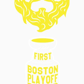 First BOSTON Playoff Beard by pointandthread