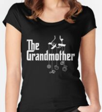 The Grandmother - Mafia Movie Spoof Women's Fitted Scoop T-Shirt