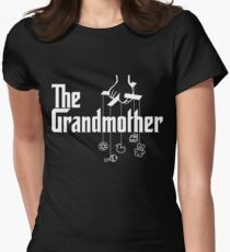 The Grandmother - Mafia Movie Spoof Women's Fitted T-Shirt