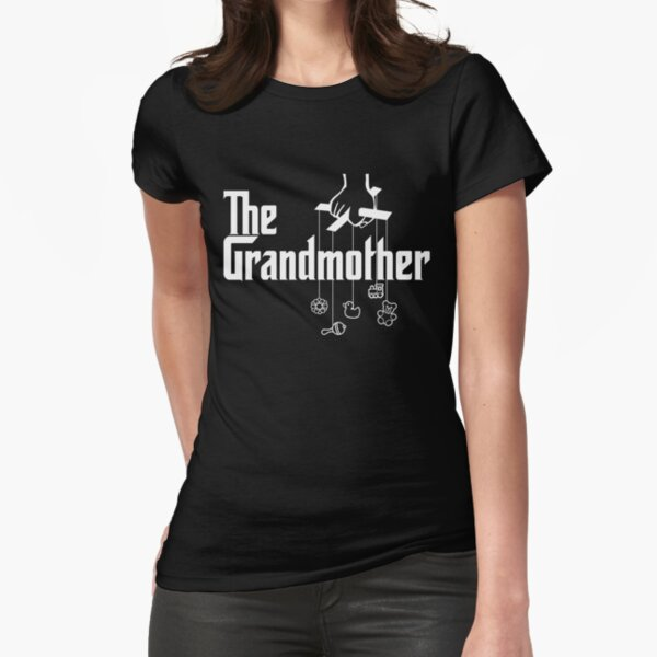 The Grandmother - Mafia Movie Spoof Fitted T-Shirt