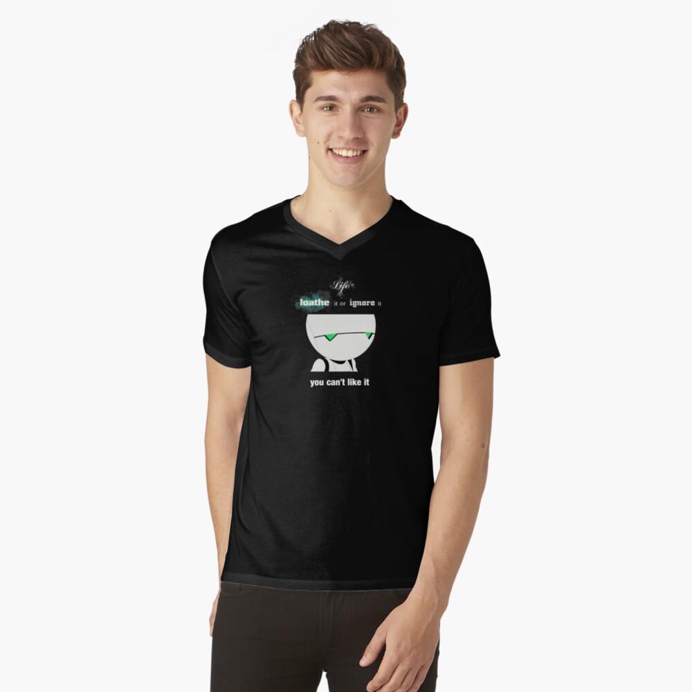 Marvin Men's V-Neck T-Shirt Front