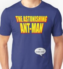 The Astonishing Ant-Man Unisex T-Shirt