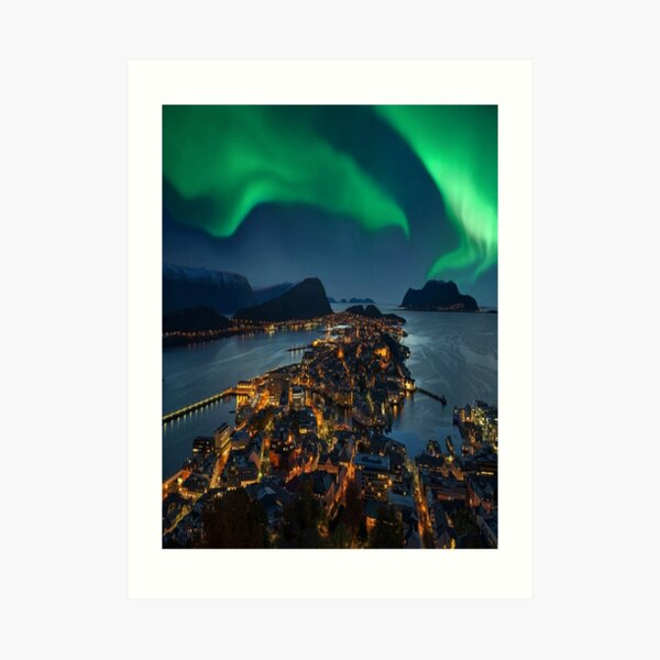 Alesund Norway Art Print