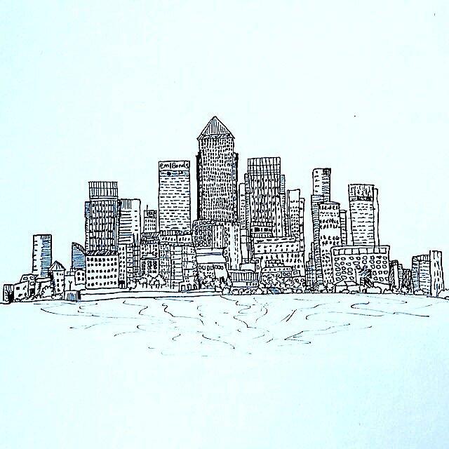 London Cityscape by defneartun