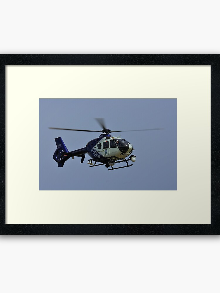 Eurocopter EC135 P2+, PolAir 4, VH-PHM, NSW Police Force | Framed Art Print