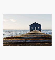 Crawley Edge Boat Shed Perth Photographic Print