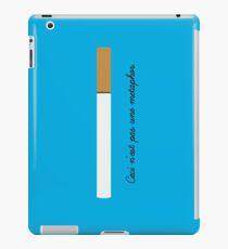 Ceci n'est pas une metaphor iPad Case/Skin