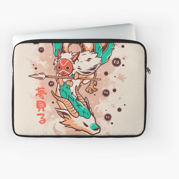 The Princess and the Dragon Laptop Sleeve