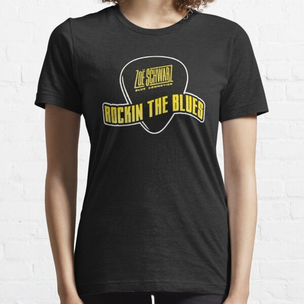 Rockin The Blues Pick Tee (yellow) Essential T-Shirt